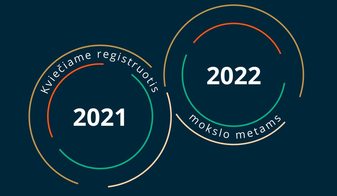 Registracija 2021/2022 mokslo metams