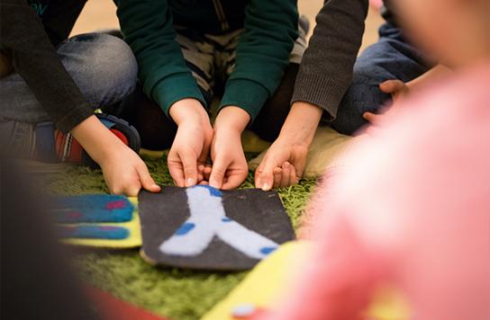 Visapusiškas vaiko vystymasis bendradarbiaujant